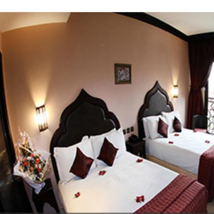 Rent this 1 bed apartment on Victoria Drink Store in Boulevard Mohammed Abdelkaraim el Khattabi, 40010 Marrakesh