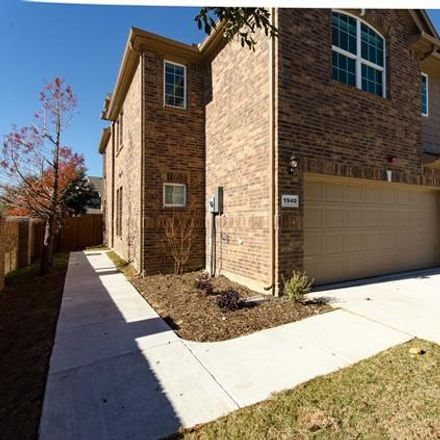Rent this 3 bed condo on 1940 Argyle Ln in Lewisville, TX
