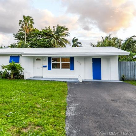 Rent this 2 bed house on 656 Northwest 30th Court in Wilton Manors, FL 33311