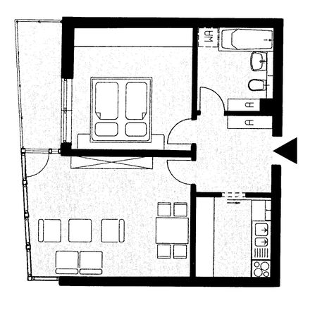Rent this 2 bed apartment on Kauschaer Straße 22 in 01239 Dresden, Germany