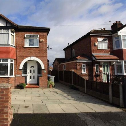 Rent this 3 bed house on Davenham Road in Trafford M33 5QR, United Kingdom