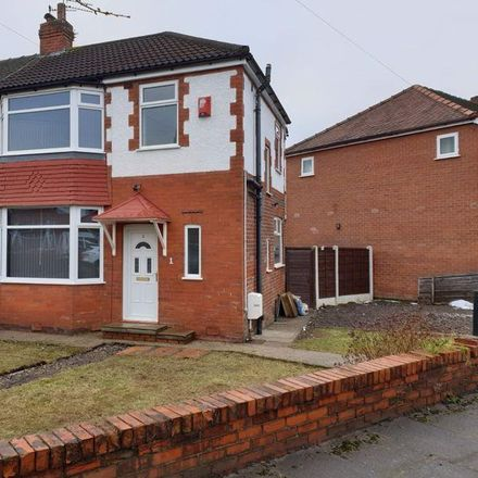 Rent this 3 bed house on 4 Gainford Road in Stockport SK5, United Kingdom
