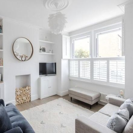 Rent this 3 bed house on 21 Burmester Road in London SW17 0PF, United Kingdom