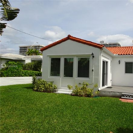 Rent this 3 bed house on 8846 Harding Avenue in Surfside, FL 33154