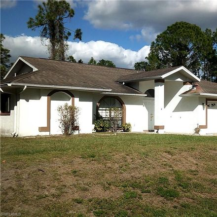 Rent this 3 bed house on 3207 Leeland Heights Boulevard East in Lehigh Acres, FL 33936