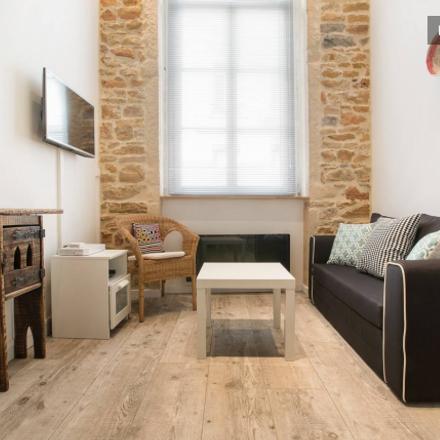 Rent this 1 bed apartment on Lyon in Lyon 4e Arrondissement, AUVERGNE-RHÔNE-ALPES