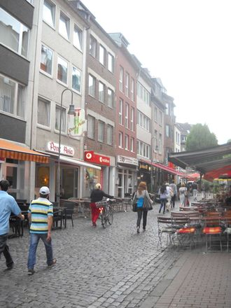 Rent this 1 bed apartment on Food Brother in Pontstraße 113, 52062 Aachen