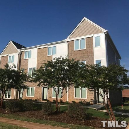Rent this 3 bed townhouse on 2828 Tryon Road in Raleigh, NC 27603