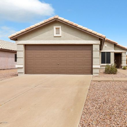 Rent this 3 bed house on 9920 East Diamond Avenue in Mesa, AZ 85208