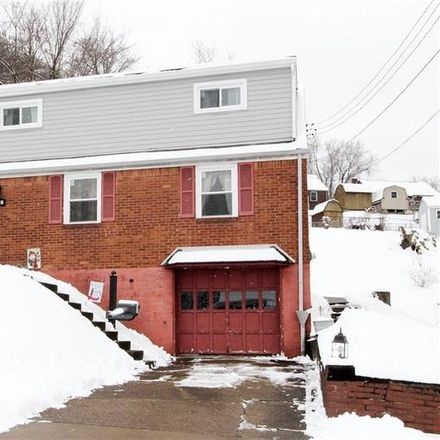 Rent this 3 bed house on 206 Dersam Street in Port Vue, PA 15133