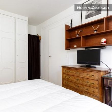 Rent this 1 bed apartment on 12 Rue Laurent Pichat in 75116 Paris, France