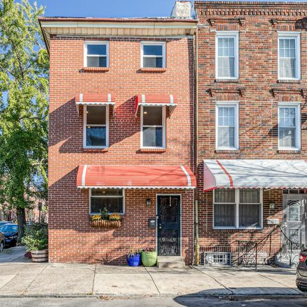 Rent this 3 bed townhouse on 1201 South 8th Street in Philadelphia, PA 19147