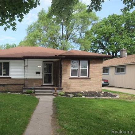 Rent this 3 bed house on 18259 Robert Street in Melvindale, MI 48122