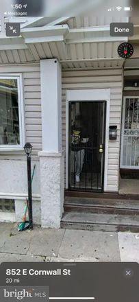 Rent this 3 bed townhouse on 852 East Cornwall Street in Philadelphia, PA 19134