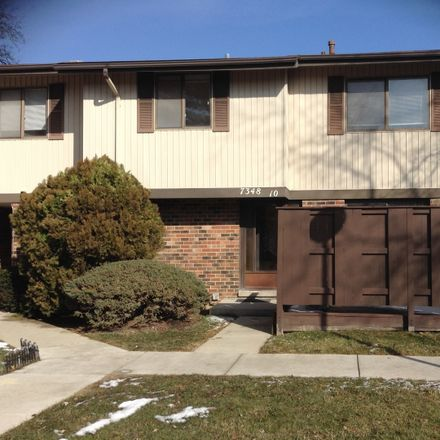 Rent this 4 bed townhouse on 7348 Winthrop Way in Downers Grove, IL 60516