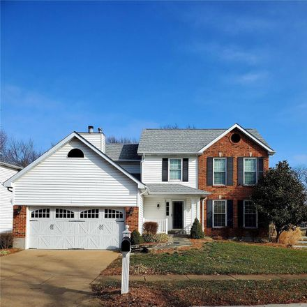 Rent this 4 bed house on 2827 Belle Terre Court in Oakville, MO 63129