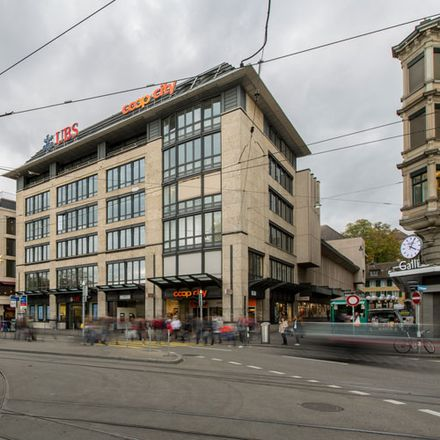 Rent this 0 bed apartment on Coop City Bellevue Food in Theaterstrasse 18, 8001 Zurich