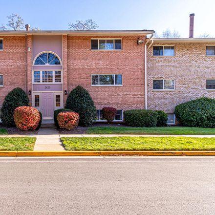 Rent this 1 bed condo on 2829 Kalmia Lee Ct in Falls Church, VA