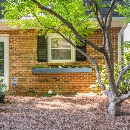 Rent this 2 bed townhouse on 406 Herndon Drive in Winston-Salem, NC 27104