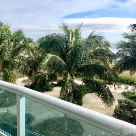 Rent this 3 bed condo on 9401 Collins Avenue in Surfside, FL 33154
