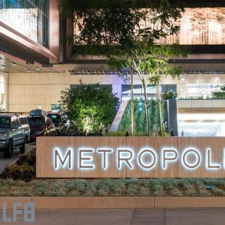 Rent this 1 bed condo on Metropolis Residential Tower I in Harbor Freeway, Los Angeles