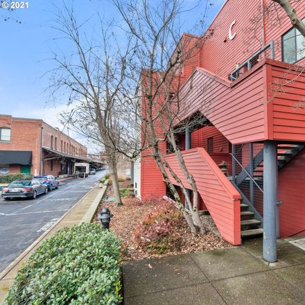 Rent this 1 bed condo on NW Naito Pkwy in Portland, OR