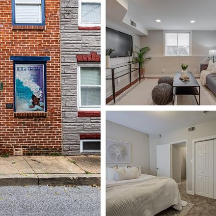 Rent this 2 bed townhouse on S Durham St in Baltimore, MD