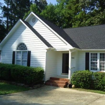 Rent this 3 bed house on 5000 Cottage Bluff Ln in Knightdale, NC