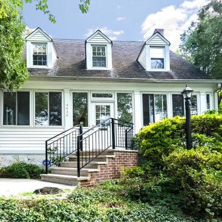 Rent this 3 bed house on 4438 Garrison Street Northwest in Washington, DC 20016