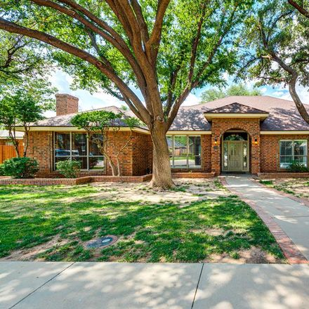 Rent this 4 bed house on 4108 Radcliff Court in Midland, TX 79707