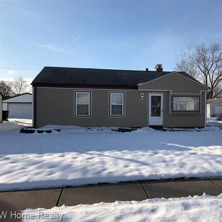 Rent this 3 bed house on 25163 Wiseman Street in Eastpointe, MI 48066
