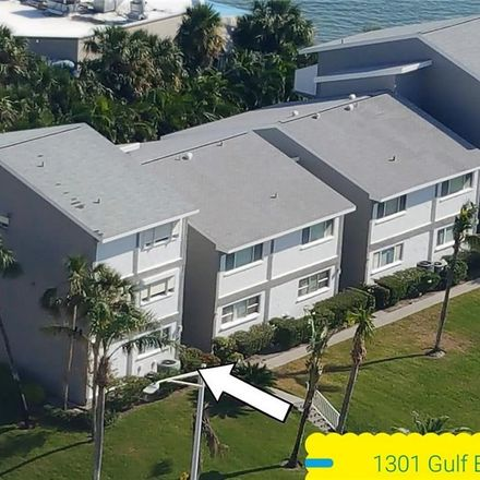 Rent this 1 bed condo on 1301 Gulf Boulevard in Clearwater, FL 33767