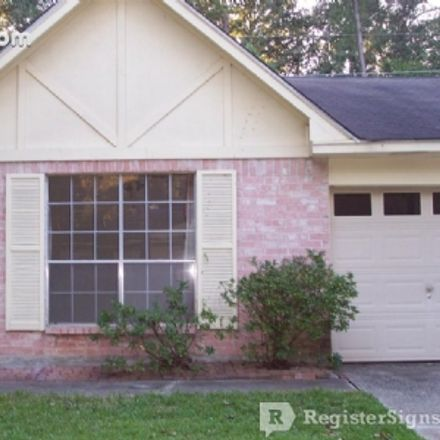 Rent this 3 bed house on 23659 Verngate Drive in Spring, TX 77373