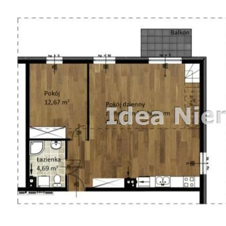 Rent this 3 bed apartment on Babiego Lata 3 in 86-032 Niemcz, Poland