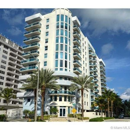 Rent this 2 bed condo on 9201 Collins Avenue in Surfside, FL 33154