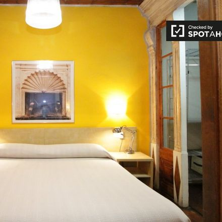 Rent this 1 bed apartment on Carrer de les Mosques in CP 08003 Barcelona, Spain