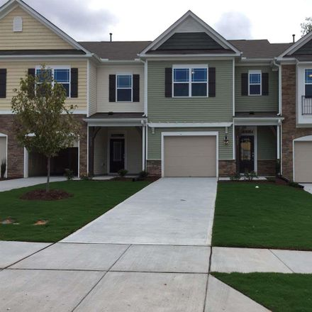 Rent this 3 bed townhouse on 1037 Historic Circle in Morrisville, NC 27560