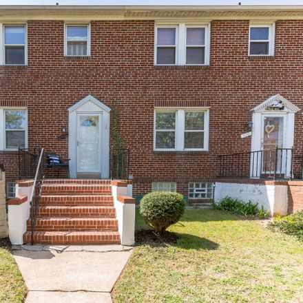 Rent this 3 bed townhouse on 912 Elm Ridge Avenue in Arbutus, MD 21229