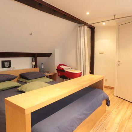 Rent this 1 bed apartment on Rue Blaes - Blaesstraat 210 in 1000 Ville de Bruxelles - Stad Brussel, Belgium