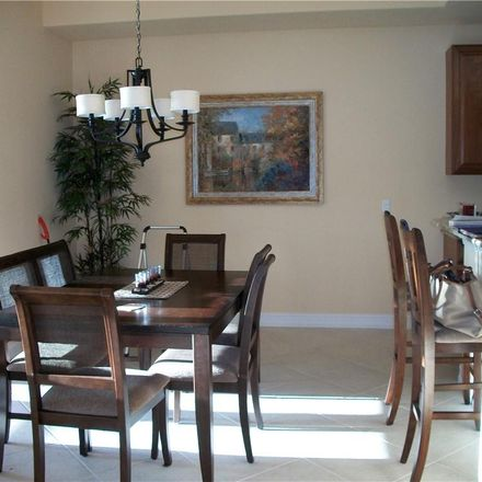 Rent this 3 bed condo on 9281 Triana Terrace in Lee County, FL 33912