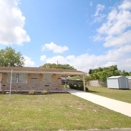 Rent this 3 bed house on Cadillac Cir S in Melbourne, FL