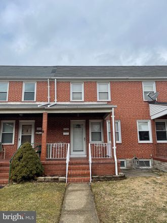 Rent this 2 bed townhouse on 7020 Eastbrook Avenue in Eastpoint, MD 21224