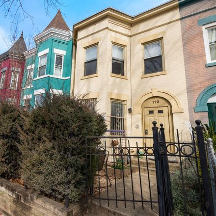 Rent this 4 bed townhouse on 119 P Street Northwest in Washington, DC 20001