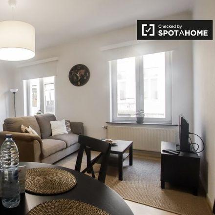 Rent this 1 bed apartment on Rue du Marteau - Hamerstraat 72A in 1000 Ville de Bruxelles - Stad Brussel, Belgium