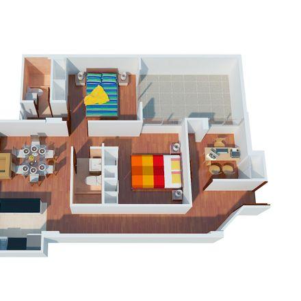 Rent this 3 bed apartment on Calle 2 in Santiago de Surco, Santiago de Surco 15049