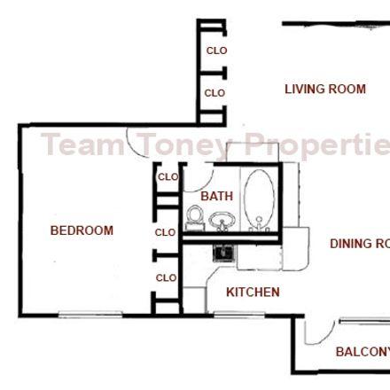 Rent this 1 bed condo on Manhattan Avenue in Union City, NJ 07087