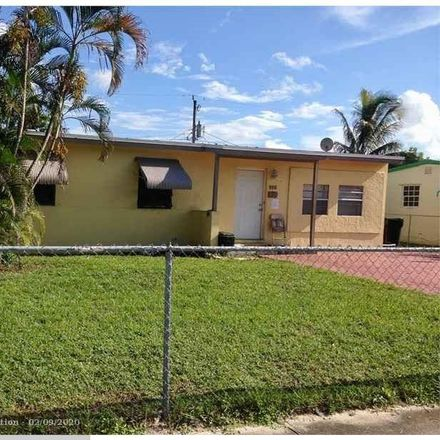 Rent this 4 bed house on 930 Northwest 11th Court in Fort Lauderdale, FL 33311