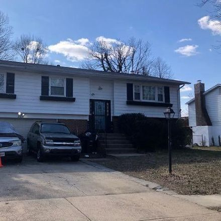 Rent this 4 bed house on 3625 Fernandes Drive in Temple Hills, MD 20748