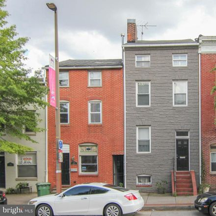 Rent this 3 bed townhouse on 1907 Fleet Street in Baltimore, MD 21231