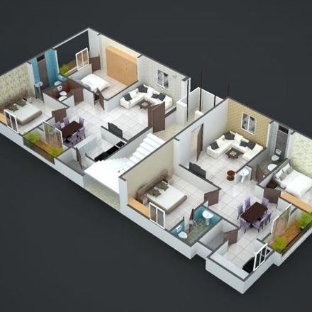 Rent this 2 bed apartment on Nizam College in Abids Road, Ward 78 Gunfoundry